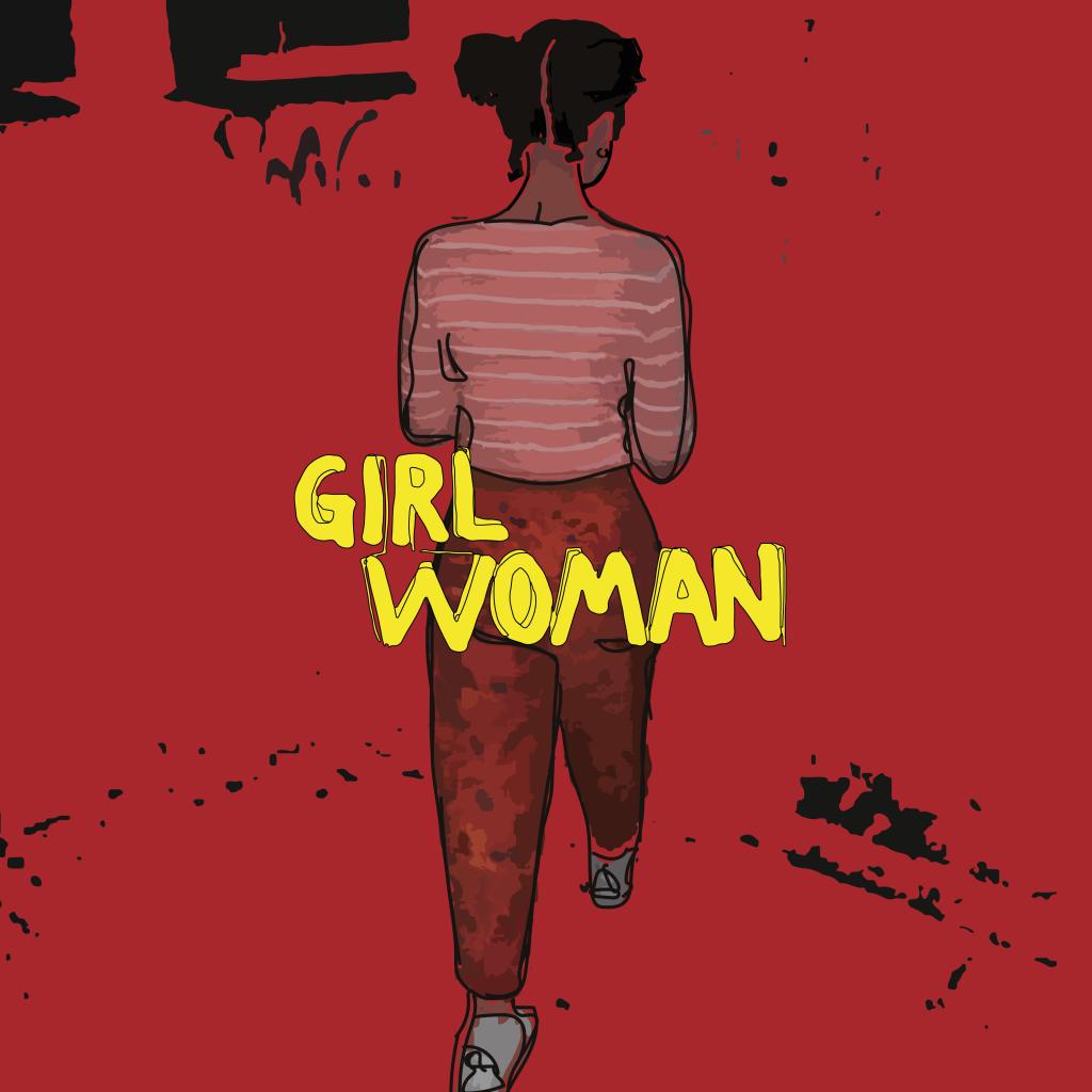 Das Girlwoman tanzt zu Synthesizern und Rhythmusmaschinen mit dem roten Riesen durch die Nacht.